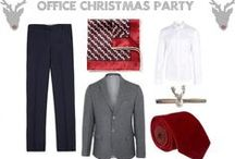 Christmas Outfits for Men / Some ideas of what to wear over Christmas to cover the office party, Boxing Day walks, Christmas Day at home and more.....no reindeer jumpers in sight!