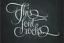 Fonts / by Misty Whitcher