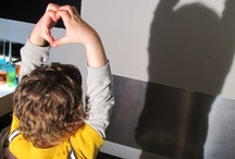 Play: Light & Shadow  / Exploring shadow, light, and reflective surfaces as child's play