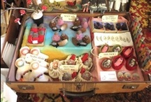 Work: Display / Ideas for displaying items at craft fairs, photographing work for online sales