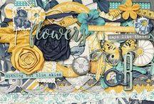 Scrap Happiness Inside by Krystal Hartley / Digital Scrapbook Designs by Krystal Hartley