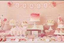 baby girl shower / by Alicia Parker