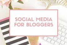 Social Media for Bloggers / Social media tips and advice for bloggers. Great tips and advice for growing your blog with social media. Social media marketing for bloggers. Tips and advice on social media for bloggers, creative entrepreneurs, business owners and free lancers. This board will cover Pinterest, Twitter, Instagram, Facebook and more!
