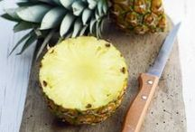 ELLE À TABLE - Fruits exotiques / Des #recettes inédites à bases de fruits exotiques  / by ELLE France