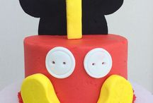 Mickey Mouse 1st Birthday - Boy