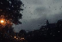 Rainydays / The sound of the pouring rain, the sound of life