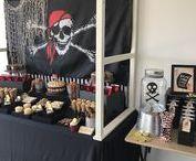 Ideas para una Fiesta de Piratas / Ideas para un cumpleaños de piratas, como hacer una fiesta de piratas, decoracion de piratas para fiesta, cumpleaños de piratas, fiesta tematica de piratas, fiesta de jake y los piratas, diseños de pasteles de piratas, centros de mesa de piratas, mesa de postres para fiesta de piratas