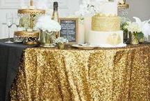 Decoración de eventos en color dorado / Decoración de eventos, ideas novedosas para decorar tus eventos, decoracion en color dorado para fiestas, ideas para cumpleaños y celebraciones, decoracion para fiestas, fiesta en color dorado