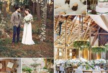 Wood Themed Wedding
