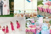 Amusement Park Themed Wedding