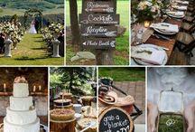Mountains Themed Wedding