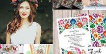 Polish Folklore Themed Wedding