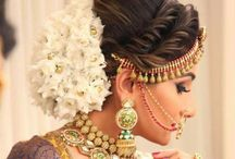 Bride hairstyles / Wedding and party hairstyles