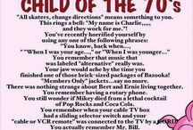 70's CHILD / Things I had and watched in the 70s / by Wendy Russell