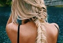 hair&makeup / by Kylie Mavrakis // Dress In Sparkles