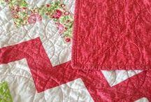Quilts and fabric / by Rachel Carter
