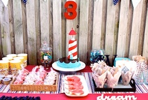 By The Waters Edge / Will's 3rd Birthday Party Inspiration