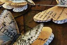 Mariposas / Soy adicta a ellas. Las veo por todos lados y me gustan tanto....