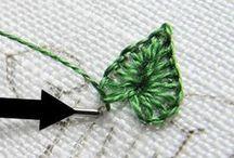 Puntadas especiales-Stitch / Los puntos especiales en el bordado embellecen una labor hasta extremos insospechados. Siempre me parece haber aprendido pocas.