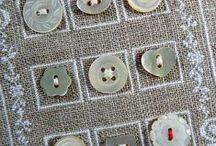 Botones / Me encantan los botones y todo lo que se puede hacer con ellos. Cada dia me sorprendo con cosas hechas con botones.