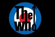 The Who /  Roger Daltrey  Pete Townshend  Keith Moon✞  John Entwistle✞ / by Paige