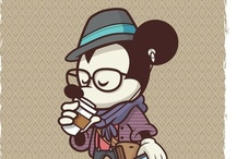 Hipster Disney / by Allison Fortier