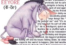 Eeyore, the positive pessimist / by Catherine Mosier