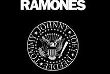 The Ramones /  Joey Ramone✞  Johnny Ramone✞  Dee Dee Ramone✞  Tommy Ramone  Marky Ramone   / by Paige