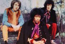 Jimi Hendrix Experience / Jimi Hendrix✞  Mitch Mitchell✞  Noel Redding✞ / by Paige