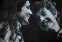 Joan Baez & Bob Dylan❤ / by Paige B