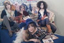 Groupies / Rock And Roll Groupies, Muses, Wives, Friends, and Girlfriends •Pamela Des Barres • Lori Maddox • Charlotte Martin • Catherine James • Michele Overman • Sweet Connie • Bebe Buell • The GTOs • / by ❣Paige ☮