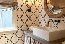 Scrub-a-dub-dub // Bathroom Remodel / We're doing a mini remodel in the bathroom and I need some inspiration!