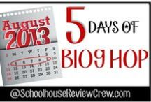 5 Days 90 Bloggers = 450 Articles / The Schoolhouse Review Crew present you 5 Days of back to school blog hopping.  It is 5 days with 90 Bloggers with 450 pages of encouragement.