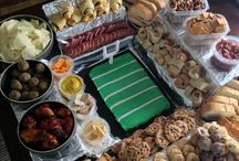 Football Party Food/Decor / by ➵ Ashley Brooke-Dunsford