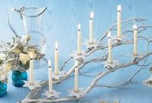 Hanukkah Party / Inspiration for your Hanukkah festivities from treats to decorations