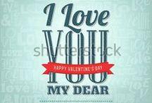 Valentine's / My lovely designs: shutr.bz/1kBozQI