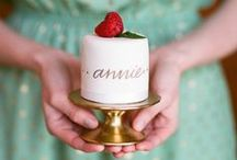 2015 Trend: Miniature Wedding Cakes / Instead of or in addition to featuring a multi-tiered wedding cake, couples are also serving several smaller cakes to offer a wide variety of flavors. We've even seen a cake displayed on each reception table for an extra-sweet touch. - Wedding Wire
