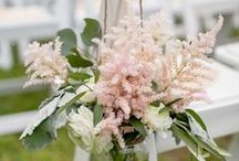 2015 Trend: Astilbe Flower / We've already started to see this feather-like flower everywhere this year, and expect to see even more of it in 2015. We've seen it solo or as an accent in bouquets, and love the variety of hues - deep red, light purple, pink and white. - Wedding Wire