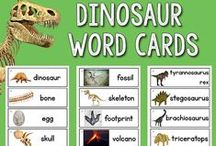 Dinosaurs Activities | Pre-K Preschool / Dinosaur Activities for Pre-K, Preschool, Kindergarten kids / by Karen Cox @ PreKinders
