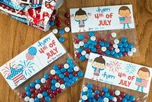 Patriotic / USA / 4th of July Activities | Pre-K, Preschool / Patriotic holidays of the USA for Pre-K and Preschool (4th of July, etc.) / by Karen Cox @ PreKinders