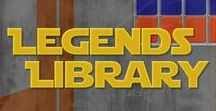 Legends Library Podcast / Here is where you will find all episodes featuring our Legends Library discussion and analysis.