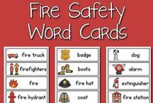 Fire Safety | Pre-K Preschool / Fire Safety lessons and activities in Pre-K, Preschool, Kindergarten / by Karen Cox @ PreKinders
