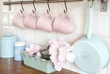 Kitchen and Pantry / A collection of all the prettiest