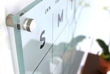 Translucent Acrylic Calendars