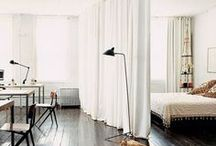 Partition Curtains - Room Dividers / Curtains are not only for windows, right?