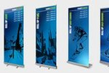 Easyscreen - Roll ups / Easyscreen is one of the leading manufacturers and supplier of mobile display solutions. Located in Belgium, we work with customers all over the world.
