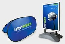 Easyscreen - outdoor solutions / Easyscreen is one of the leading manufacturers and supplier of mobile display solutions. Located in Belgium, we work with customers all over the world.  Take a look at our large range of outdoor solutions