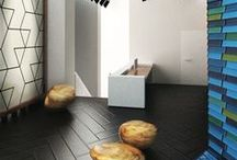 Tiling the four walls / Interior spaces can be shaped and defined by the tiles they use, such as in these places