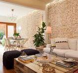 Pequenos espaços / Ideias e inspirações para decorar pequenos ambientes e apartamentos.
