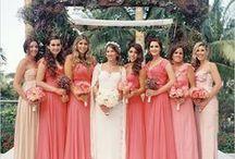 Madrinhas | LINDAS / Ideias de vestidos para você ter as madrinhas mais lindas e charmosas no seu casamento!